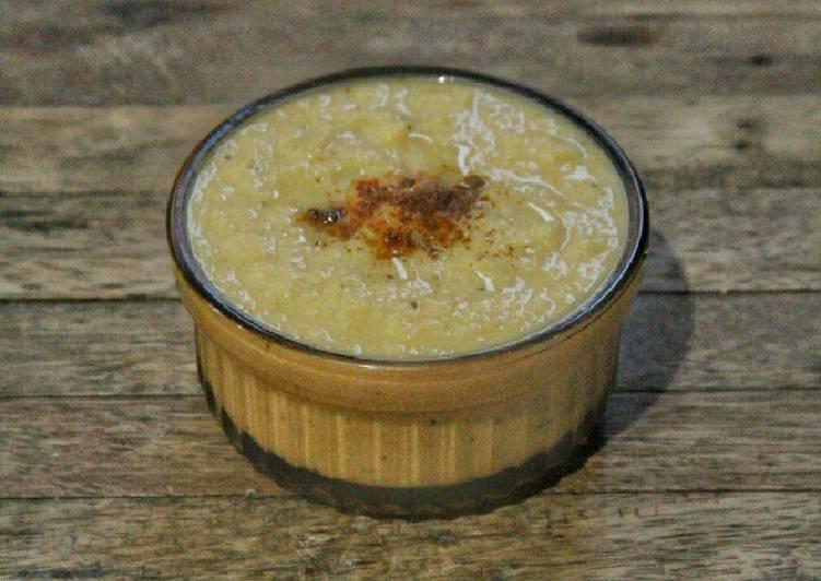 Creamy Buttermilk Cauliflower Soup