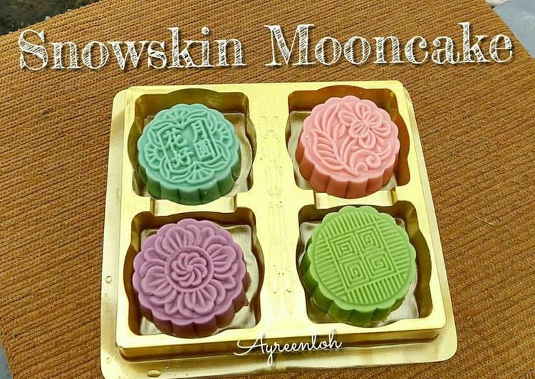 Snowskin Mooncake