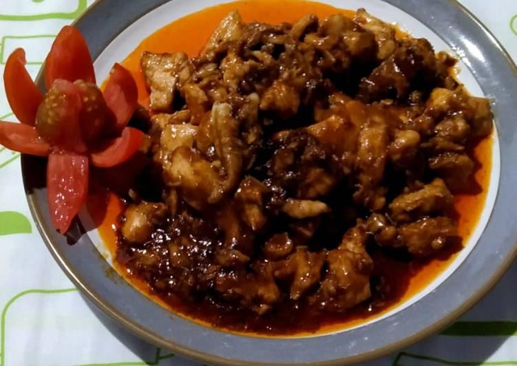 Cara Gampang Membuat 83.Ayam Goreng Mentega Saos Lada Hitam yang Enak Banget