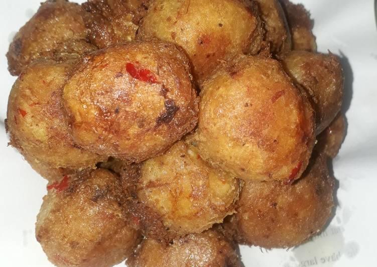 Best Comfort Dinner Easy Special Yam balls