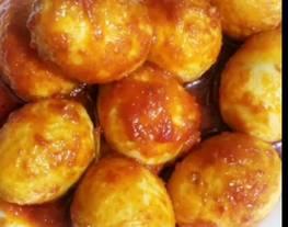 Resep semur telur cabe merah / semur telur bumbu merah
