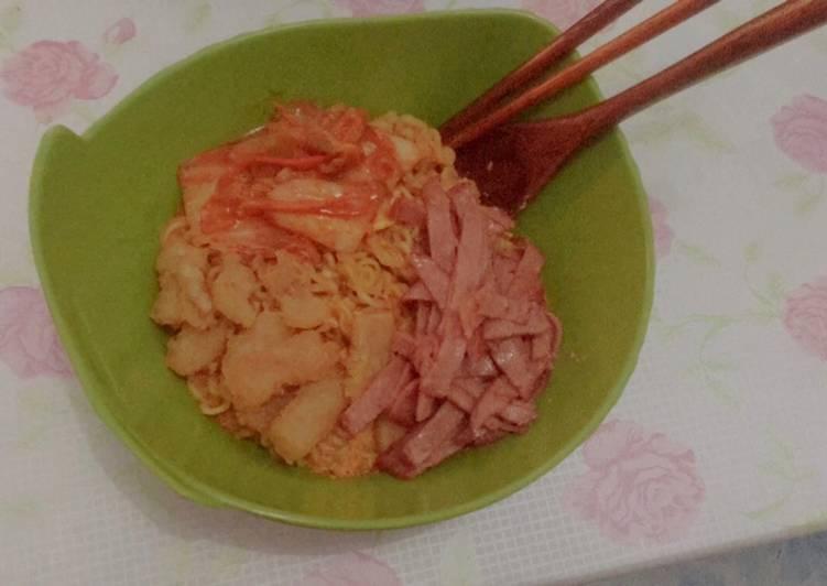 Resep Ramyun Korea Rumahan Sederhana Kuah Kental Super Resep Masakanku