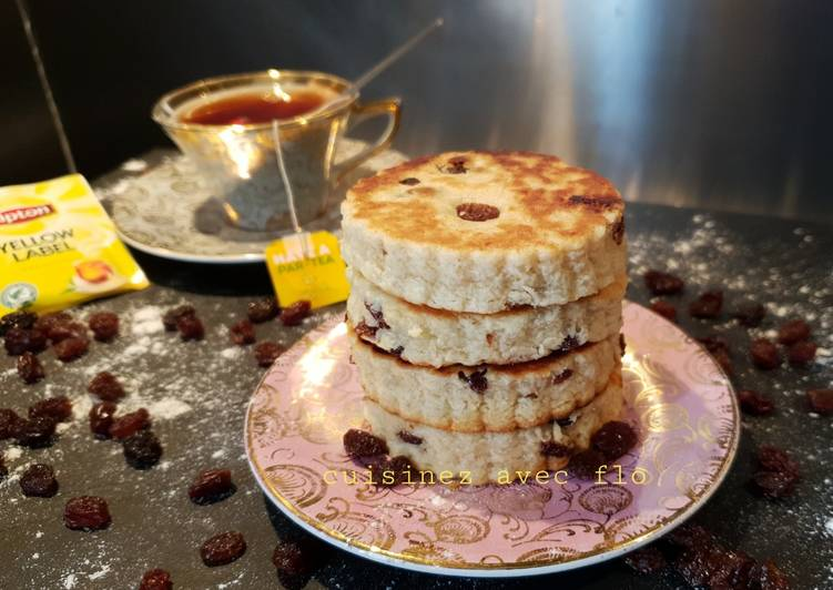 Welsh cake, biscuit gallois