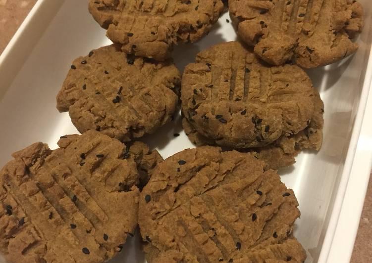 Butter cookies (vegan, gluten-free, sugar-free)