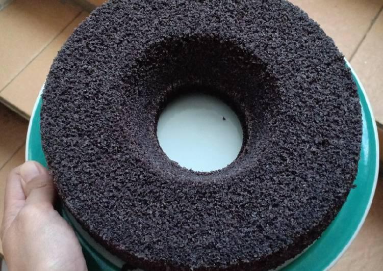 cara menyajikan Bolu ketan hitam kukus super lembut - Sajian Dapur Bunda
