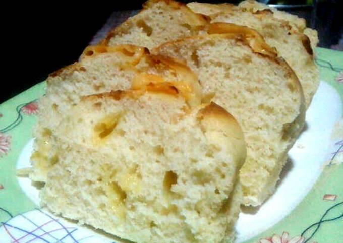 Recipe: Tasty Cheese Bread using Pancake Mix