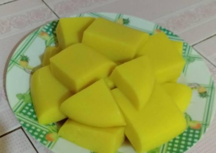 Puding jagung manis