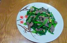 Thịt bò xào rau cải
