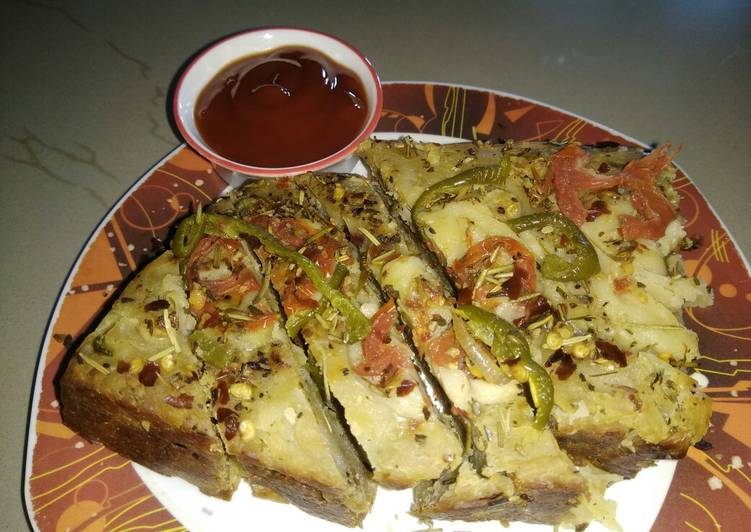 Recipe of Homemade Spicy Bread Loaf without Oven