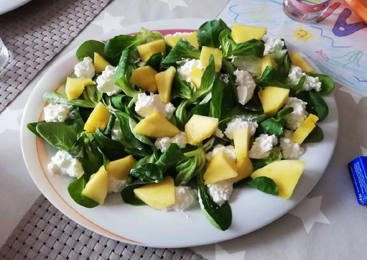 Mango-Rucola/Feldsalat-Salat