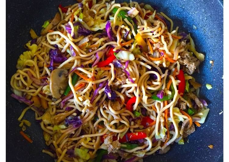 Vegetable Teriyaki Noodle Bowl