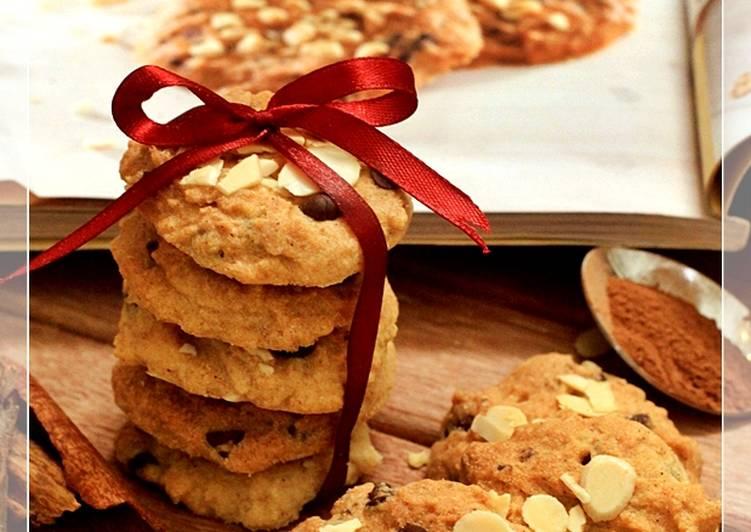 Cinnamon Chocochips Cookies Renyah Recomended