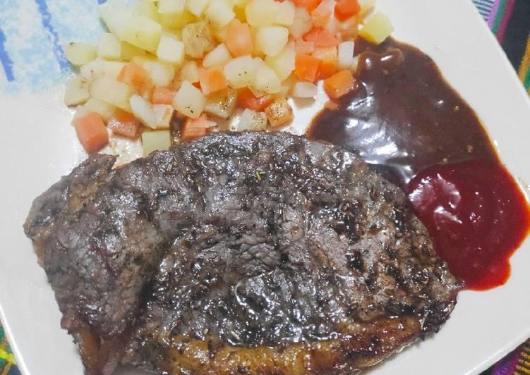 Steak Daging Resto ala Rumahan