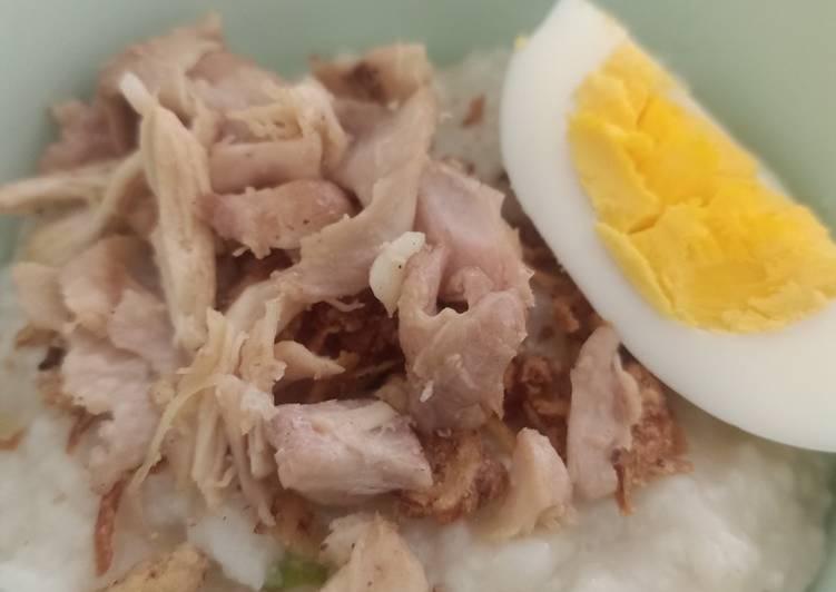 Cara Mudah Memasak Bubur Ayam Chinese, Enak