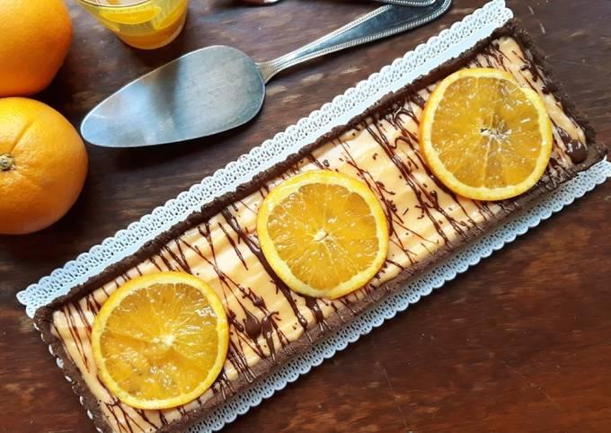☆Tarte Orange Chocolat☆