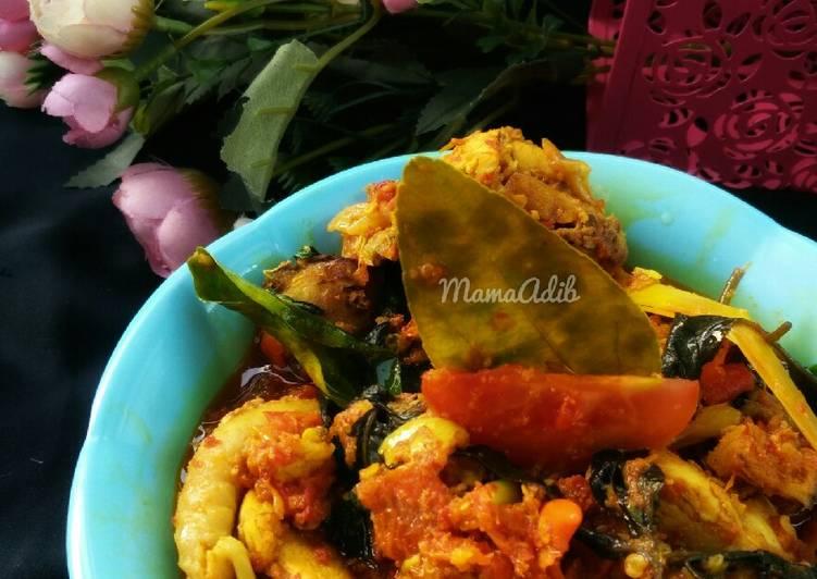 Cara Memasak Ayam woku kemangi anti gagal