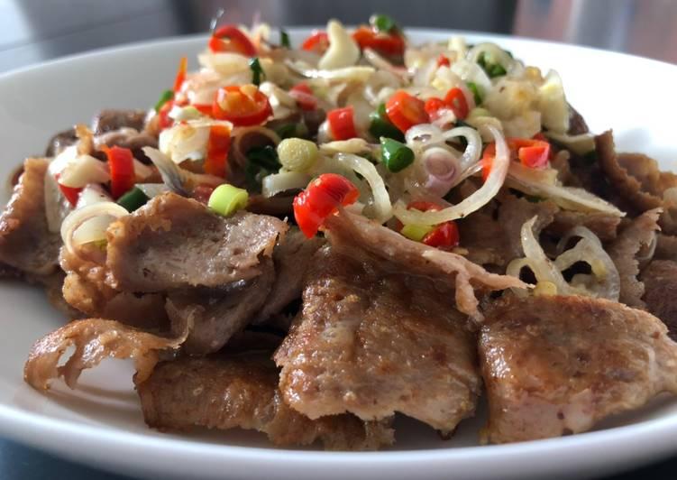 Leftover Lamb Doner with Sambal Matah (Raw Balinese Sambal)