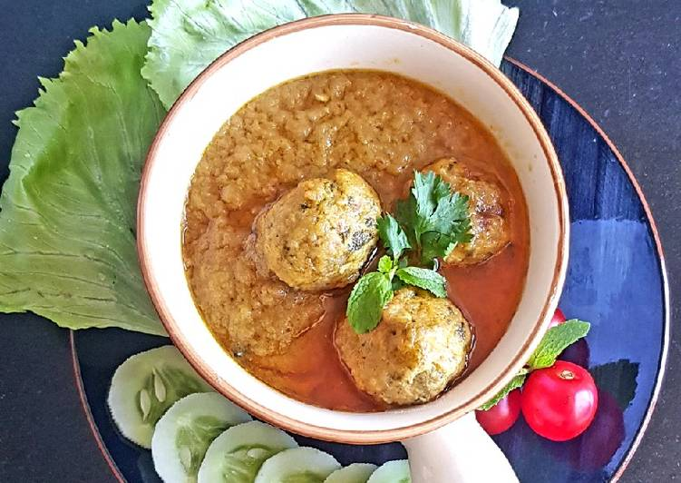 Mutton Kofta Curry Deciding on Healthy Fast Food