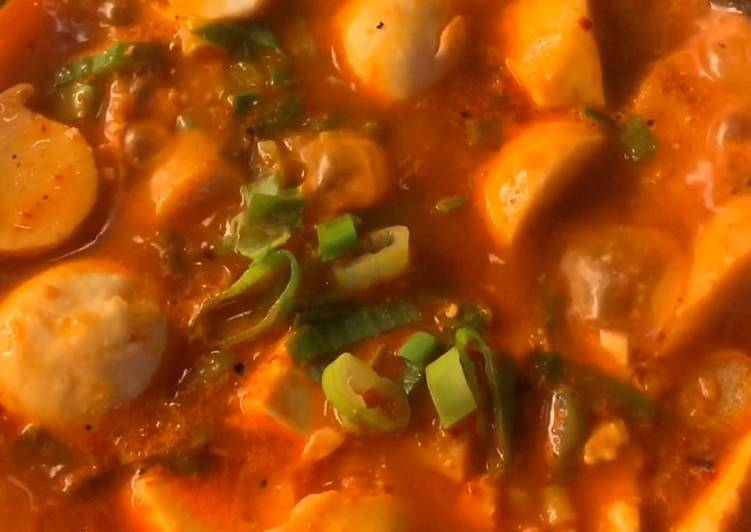 Sundubu Kimchi Jjigae ala Itaewon Class (Korean Soft Tofu Stew)