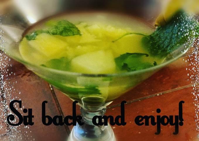Pineapple refresher!