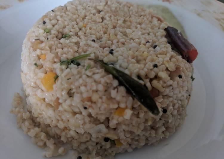 Easiest Way to Make Perfect Wheat Rava Upma