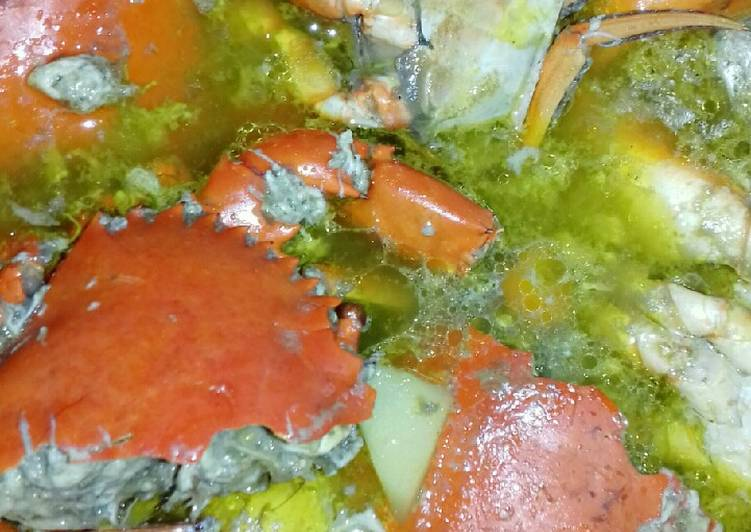 Sup Kepiting (Ala Mamah Fiona)