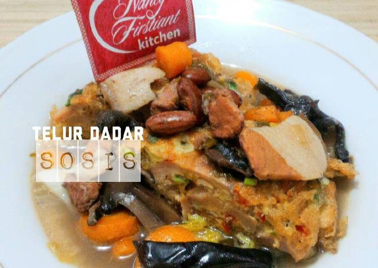 Resep Telur Dadar Siram Sup Brenebon Babi