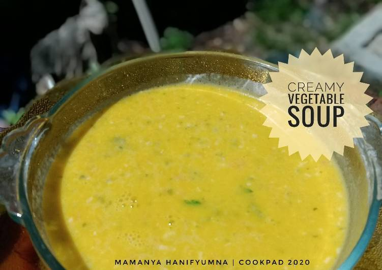 Creamy Vegetable Soup (MPASI)