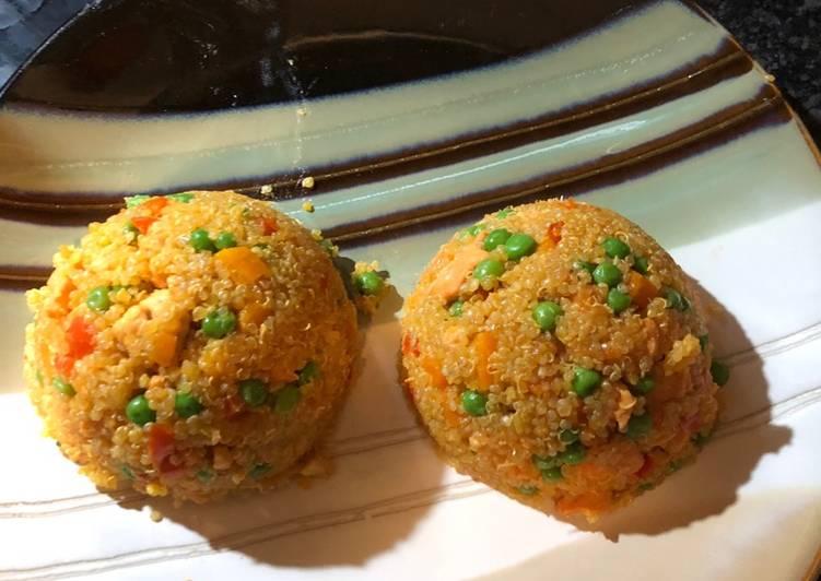 Quinoa Arroz Con Pollo