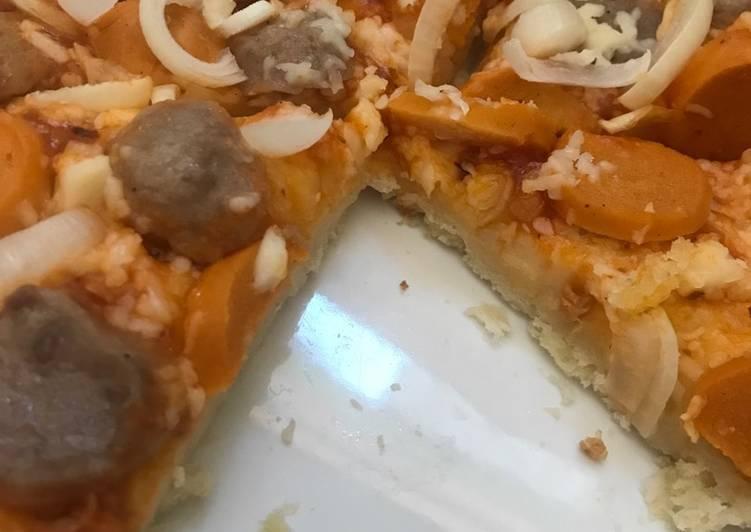 Pizza Teflon Crispy Rumahan