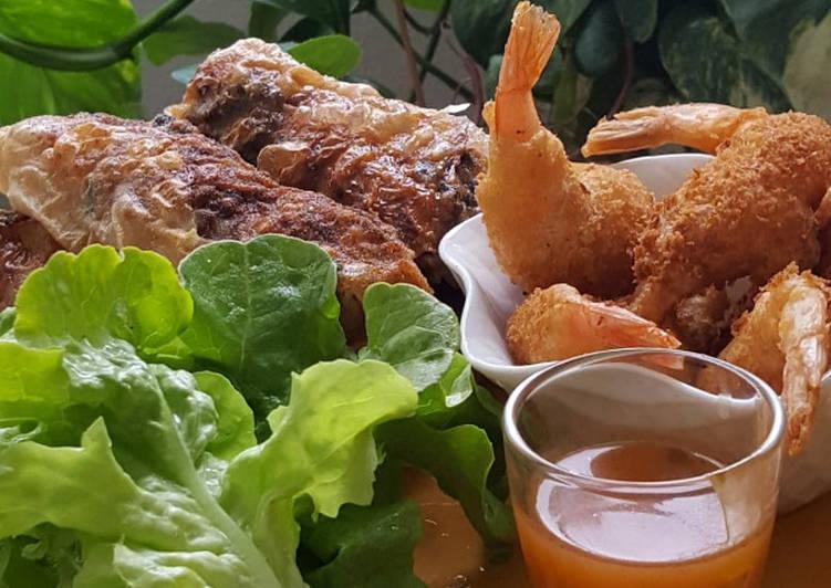 Recette des Nems (insta: Cuisine_jloup)