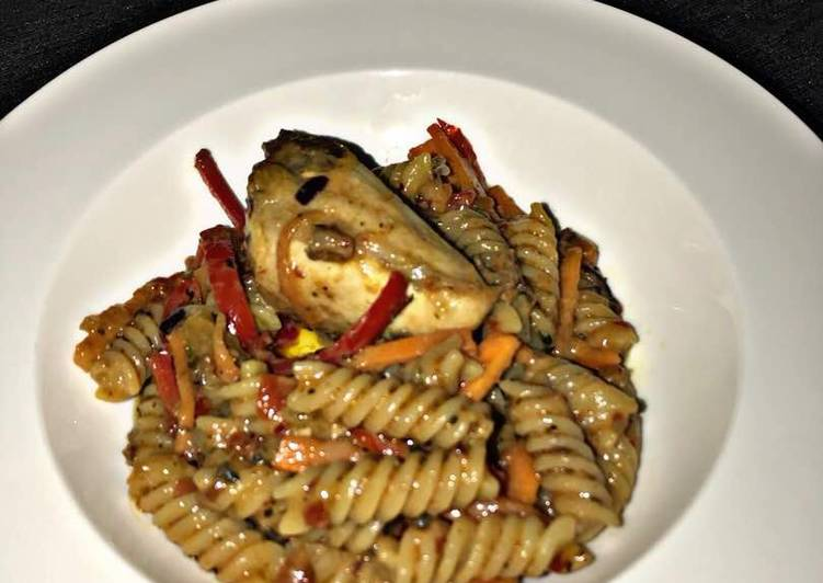 Recipe of Award-winning Wheat Pasta in Mushroom Sauce