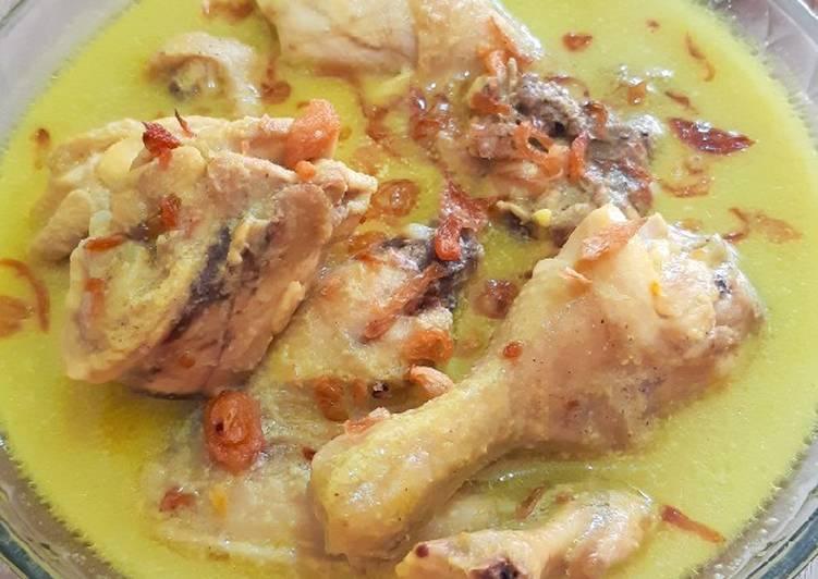 Resep Mudah Opor Ayam Simpel Anti Ribet