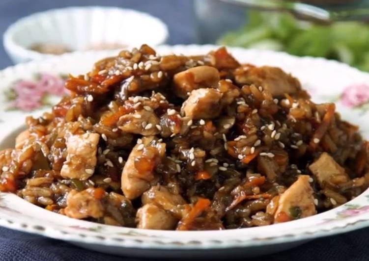 Resep Nasi Ayam Teriyaki