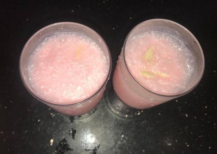 Rooh afza Milkshake