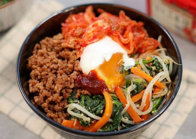 Bibimbap Easy Recipe | Korean Food