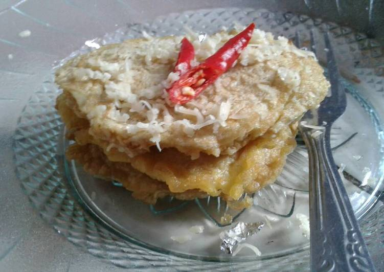 Pancake oat (menu sarapan diet sehat)