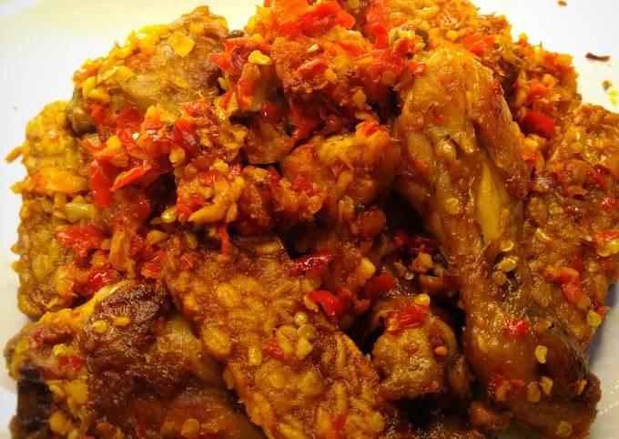Ayam & Tempe Balado