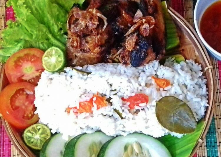 Resep Ayam Bakar Madu_Nasi pedas Menggugah Selera