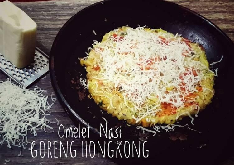 #Omelet Keju Nasi Goreng Ala Hongkong #SelasaBisa