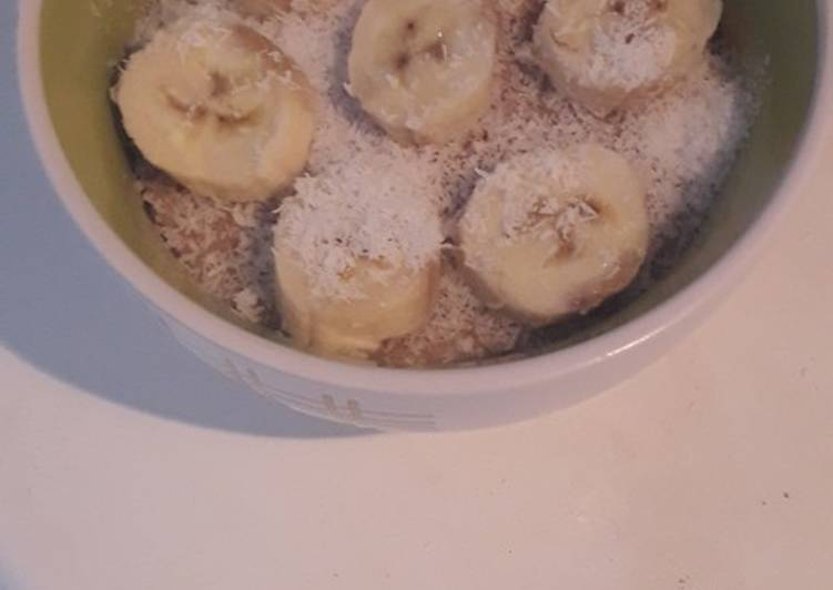 Porridge a la banane
