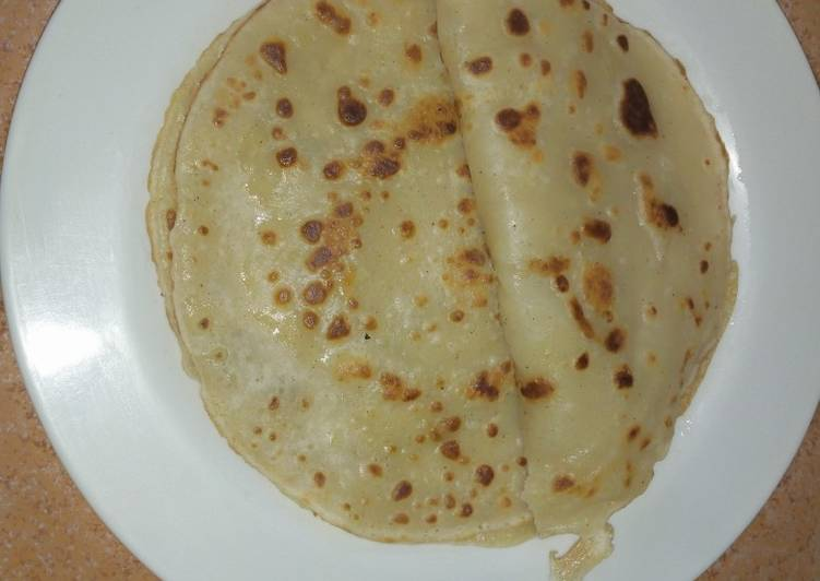 """African Cuisine """"Traditional pancake"""" #newauthorchallenge"""
