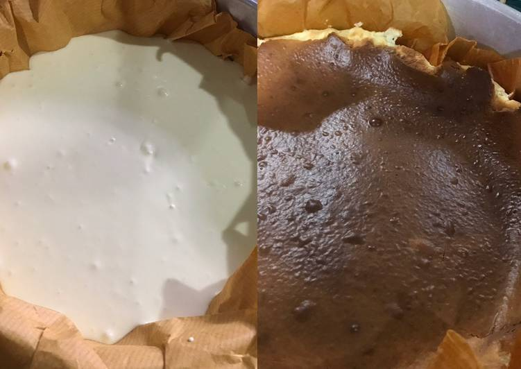 Burn cheese cake Mama