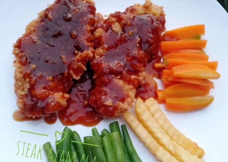 Steak Ayam Ala Mamah dytadyra