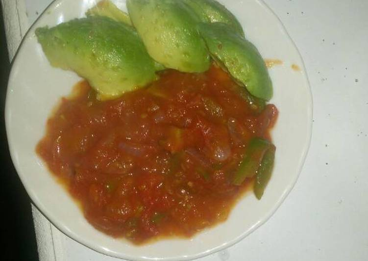 Tomato soup and avocado, Choosing Fast Food That's Very good For You
