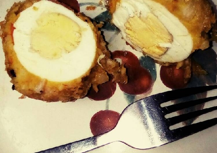 How to Prepare Ultimate Yummy Yam egg roll