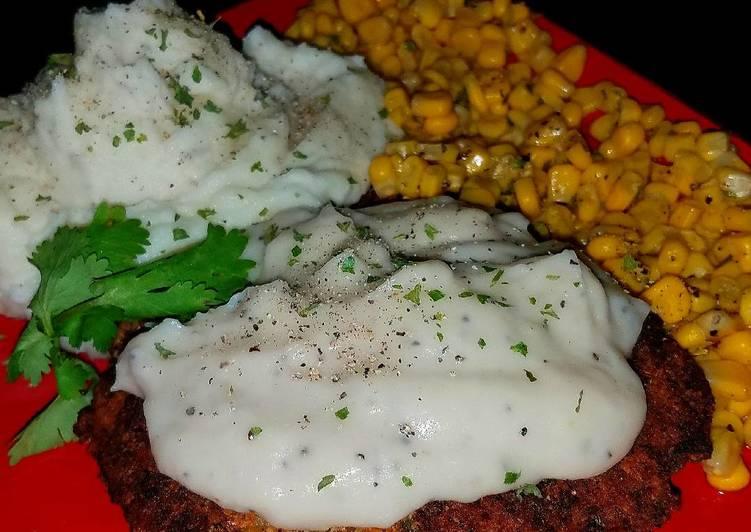 Mike's EZ Chicken Fried Steak & Sides