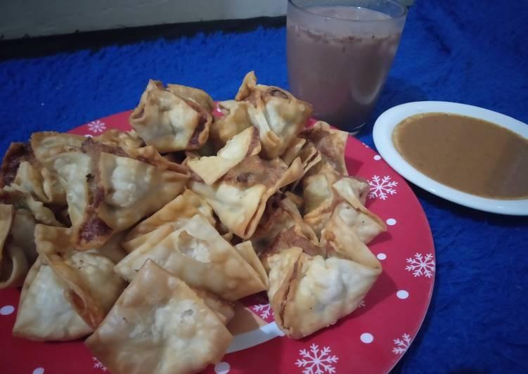 Cara menyiapkan Batagor mudah dan enak  Sederhana