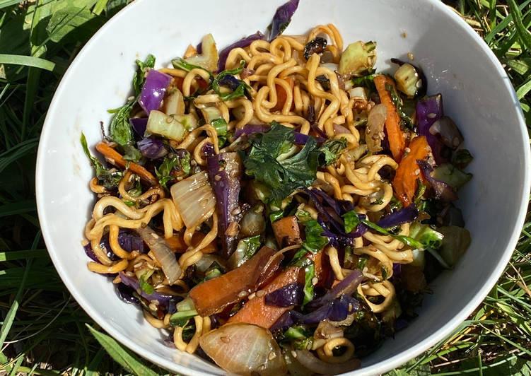 Comment Cuisiner WOK aux feuilles et côtes de CHOU-FLEUR