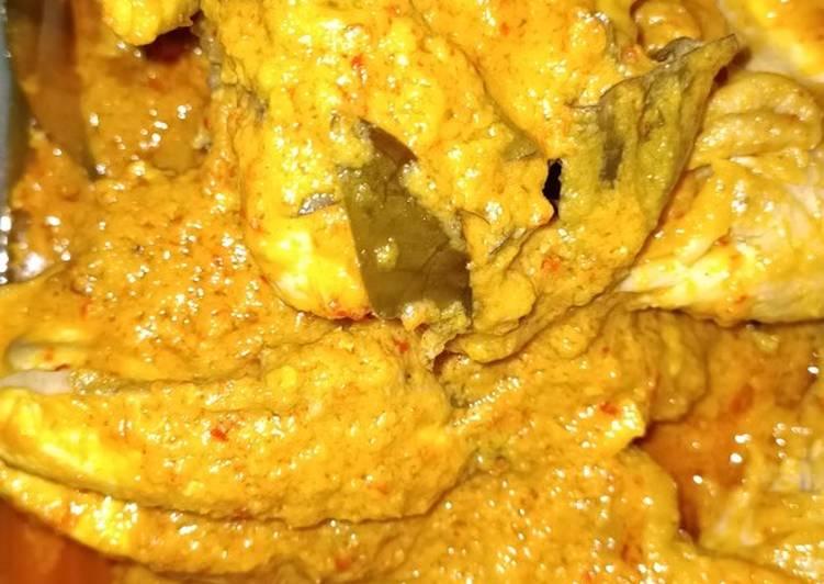 Ayam bakar ala padang (foto belum dibakar)